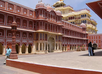 city palace - visiting places in Jaipur