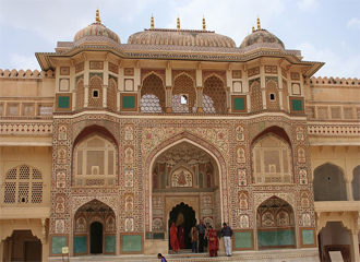 Aamer fort - visiting places in Jaipur